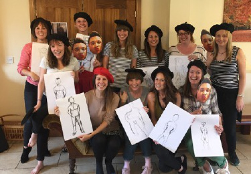 hen party life drawing york