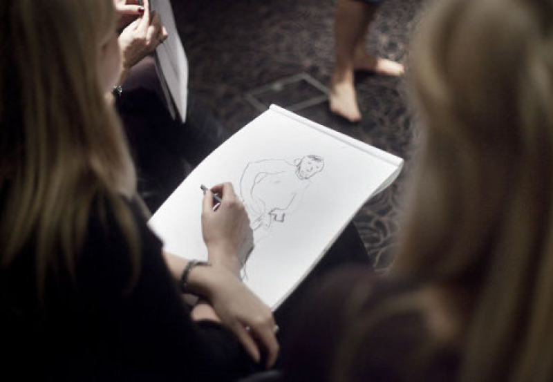 hen party lif drawing