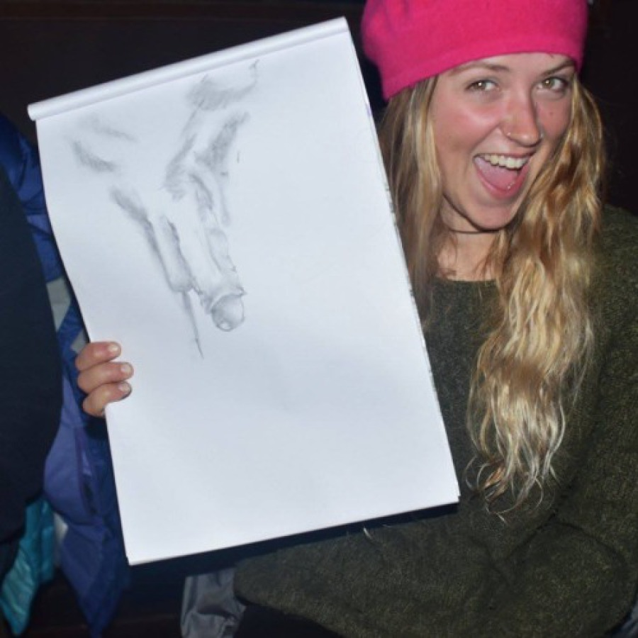 hen party life drawing Liverpool