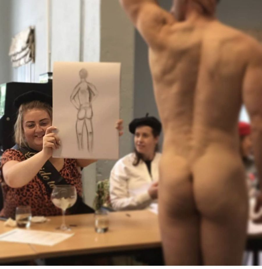 hen do life drawing