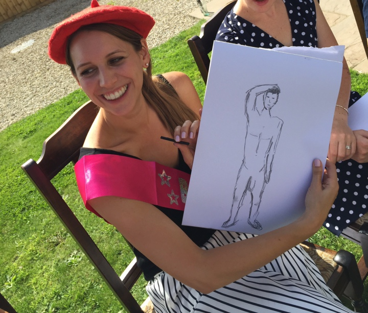 liverpool hen do life drawing